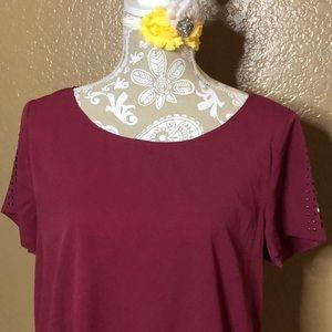 Large a.n.a blush pink Dress Top